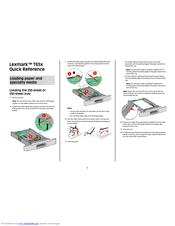 Lexmark T650 Manuals