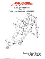 Life Fitness PLLL2 Manuals