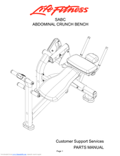 Life Fitness SABC Parts Manual (13 pages)