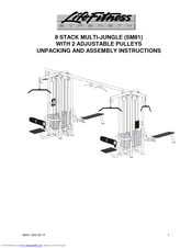 Life Fitness SM81 Manuals