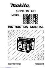 Makita G3501R Manuals