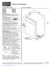 Maytag MDB4709PAW Manuals