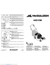 Mcculloch 4051CM Manuals