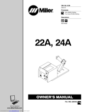 Miller Electric 22A Manuals