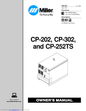 Miller Electric CP-302 Manuals