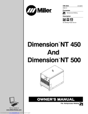 Miller Electric NT 500 Manuals