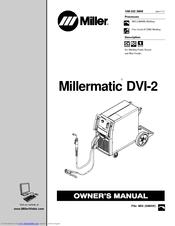 Miller Electric Millermatic DVI-2 Manuals