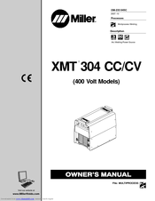 Miller electric XMT 304 CC/CV Manuals