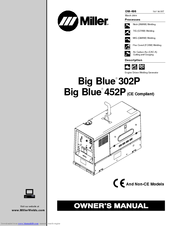 Miller Electric Big Blue 452P Manuals