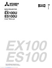 Mitsubishi EX100U Manuals