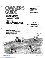MTD 149-990A Owner's Manual (43 pages)