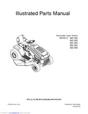Mtd 660 Series Manuals
