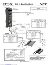 Nec DSX DSX-40 Manuals