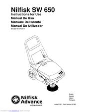 Nilfisk-advance AQUAMAX AX 650 Manuals
