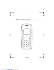 Nokia 2126 Manuals