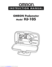 Omron HJ-105 Manuals