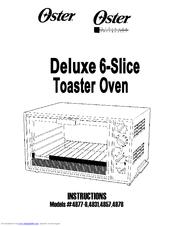 Oster 4877-8 Manuals