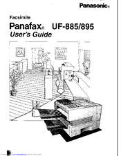 Panasonic UF-895 Manuals