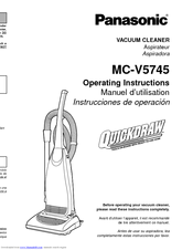 Panasonic MC-V5745 Operating Instructions Manual (48 pages)