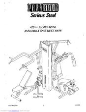 Parabody 425 Manuals