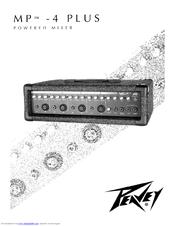 Peavey MP-4 Plus Manuals