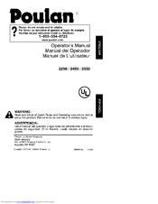 Poulan Pro 2250 Manuals