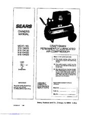 Sears 919.15412 Manuals