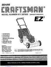Sears 917.38783 Manuals