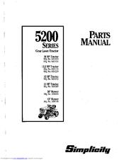 Simplicity 1691175 Manuals