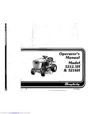 Simplicity 5212.5H Operator's Manual (44 pages)