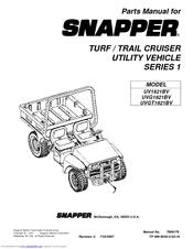 Snapper UVGT1621BV Manuals