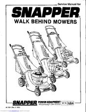 Snapper 0-7001 Manuals