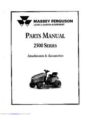 Massey Ferguson 2500 Manuals