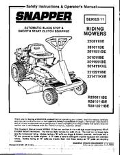 Snapper 331411KVE Manuals