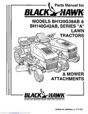 Snapper BH120G38AB Parts Manual (28 pages)