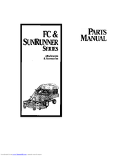 Simplicity SunRunner Series Manuals