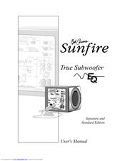Sunfire EQ Signature Manuals
