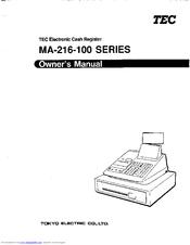 Tec MA-216 Manuals