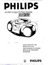 Philips AZ2000/19 Manuals