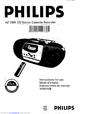 Philips AZ1308/11 Manuals
