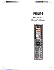 Philips SRU4105/27 Manuals
