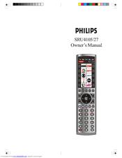 Philips SRU4105/27 Manuals