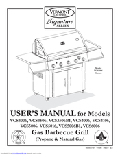 Vermont Castings VCS5006 Manuals