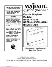 Vermont Castings BREF30, BREF36, BREF42 Manuals