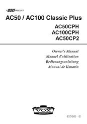 Vox AC50CP2 Manuals