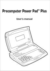 Vtech PreComputer Power Pad Plus Manuals