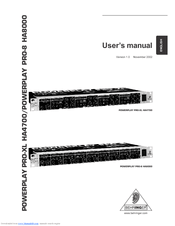 Behringer Pro-8 Ha8000 Manual: full version free software