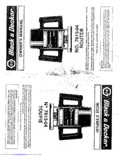 Black & Decker 7613-04 Manuals
