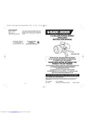 Black & Decker Power Series SL302B Manuals