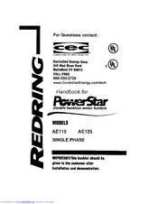 Bosch AE125 Manuals